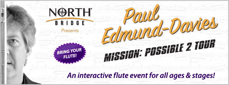 Paul Edmund-Davies Flute Clinic at Schmitt Music Brooklyn Center