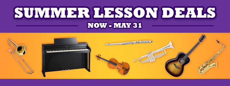 Summer Music Lesson Deals at Schmitt Music!