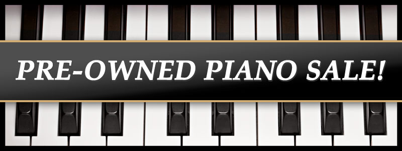 Pre-Owned Piano Sale at Schmitt Music Denver!