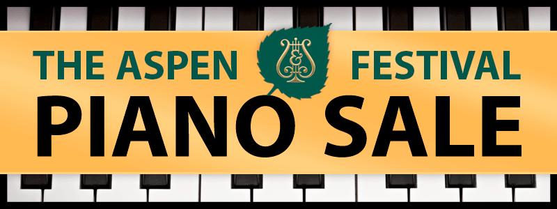Aspen Festival Steinway Piano Sale