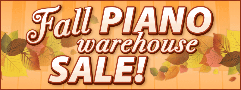Fall Piano Warehouse Sale in the Twin Cities