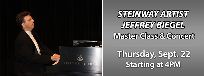 Steinway Artist Jeffrey Biegel at Schmitt Music Denver