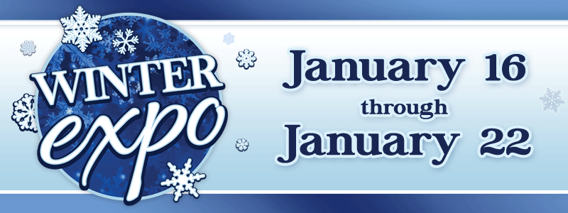 Winter Expo: Sheet Music Sale & Special Events!