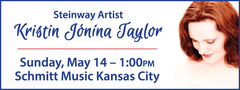 A Mother's Day Recital with Steinway Artist Dr. Kristín Jónína Taylor