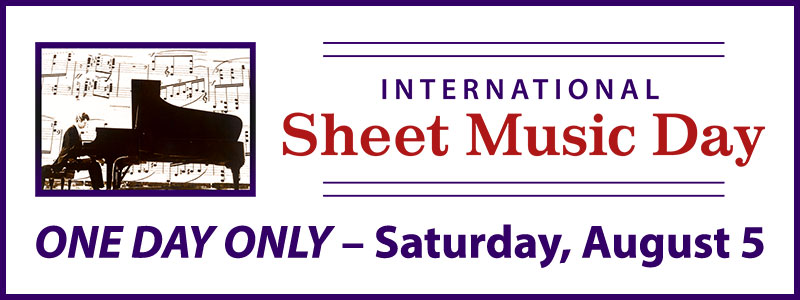 International Sheet Music Day at Schmitt Music stores