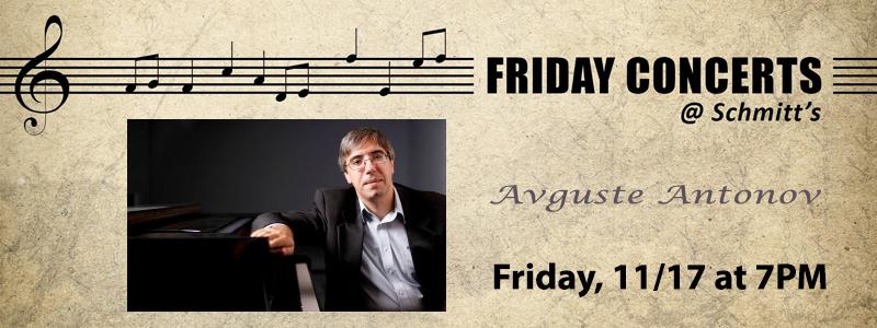 Avguste Antonov, Piano Recital | Kansas City