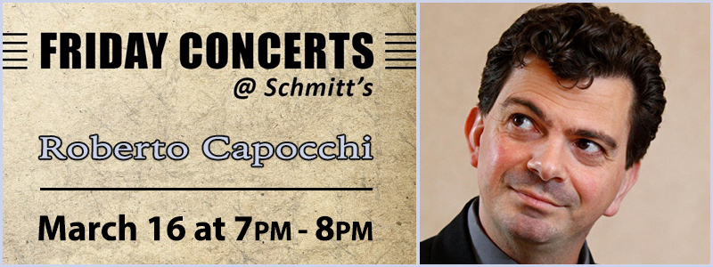 Roberto Capocchi, Guitar  Recital | Kansas City