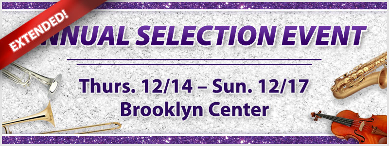 Extended Instrument Selection Event | Brooklyn Center