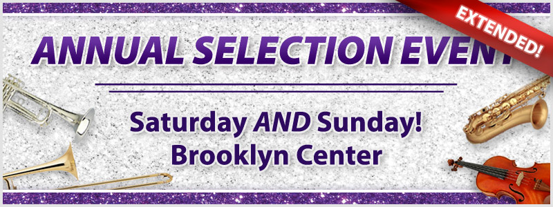 Annual Selection Event EXTENDED! | Brooklyn Center