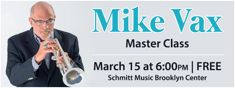 Mike Vax Trumpet Master Class | Brooklyn Center, MN