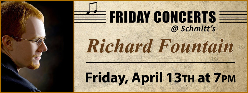 Richard Fountain, Piano  Recital | Kansas City