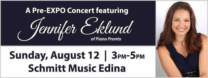 Jennifer Eklund Pre-EXPO Performance  |  Edina, MN