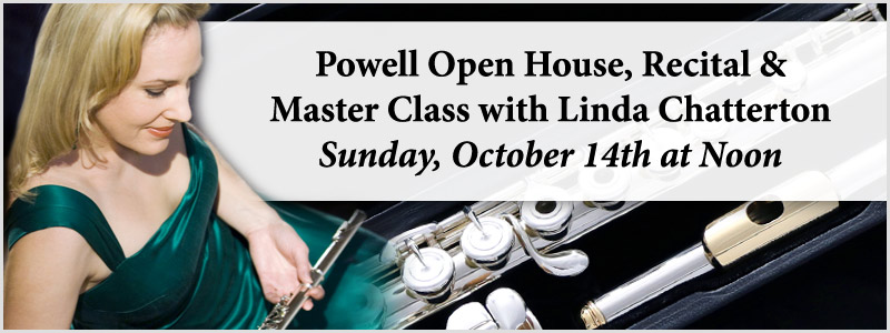 Powell Flutes Open House, Linda Chatterton Recital & Master Class | Brooklyn Center