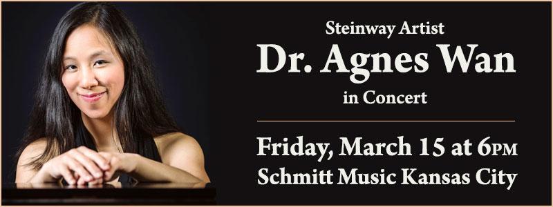 Steinway Artist Dr. Agnes Wan In Concert | Overland Park, KS