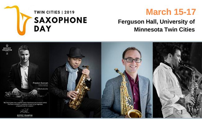 Twin Cities Saxophone Day | Minneapolis, MN