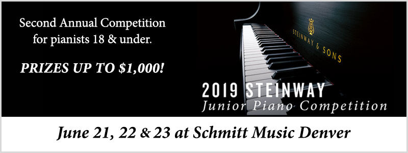 Steinway Junior Piano Competition  |  Denver, CO