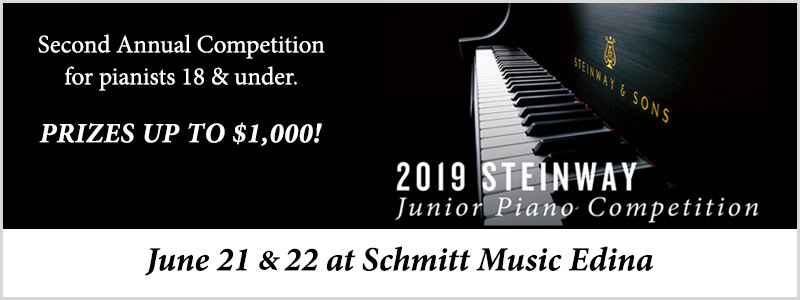 Steinway Junior Piano Competition  |  Edina, MN