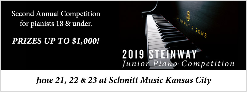 Steinway Junior Piano Competition | Overland Park, KS