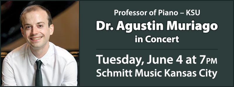 KSU Professor Dr. Agustin Muriago In Concert | Overland Park, KS