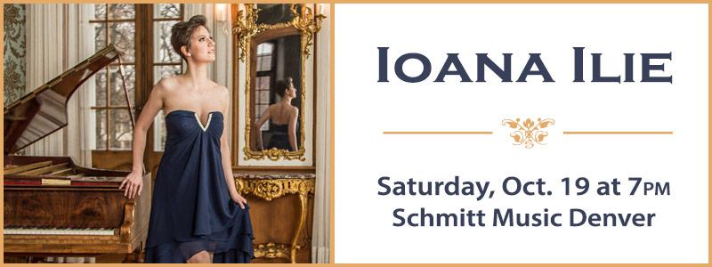 Pianist-Composer Ioana Ilie  |  Denver, CO