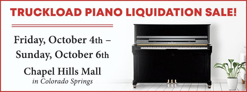 Kawai Truckload Piano Liquidation Sale |  Colorado Springs, CO