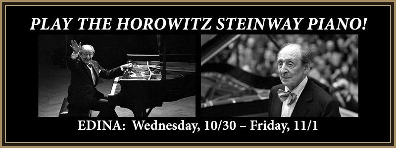 Experience the Horowitz Steinway Piano | Edina, MN