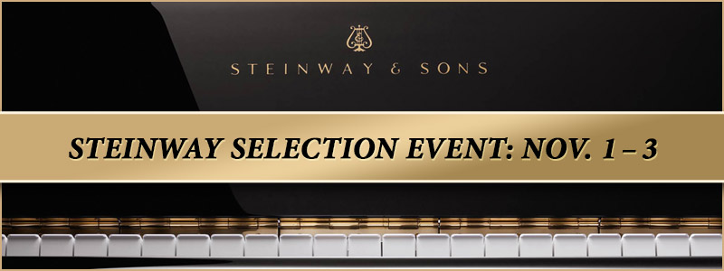 Steinway Factory-Authorized Selection Event | Englewood, CO
