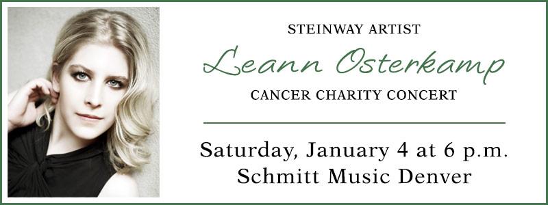 Steinway Artist Leann Osterkamp In Concert | Englewood, CO