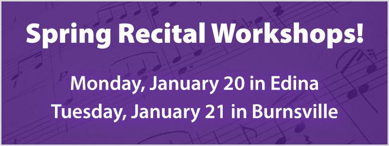Spring Recital Workshop | Edina, MN