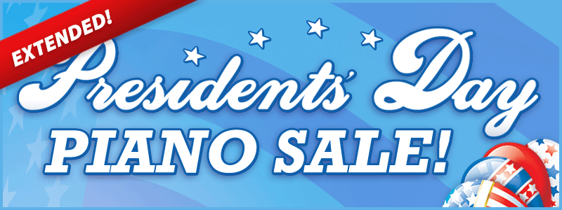 Extended: Presidents' Day Piano Sale | Schmitt Music piano stores