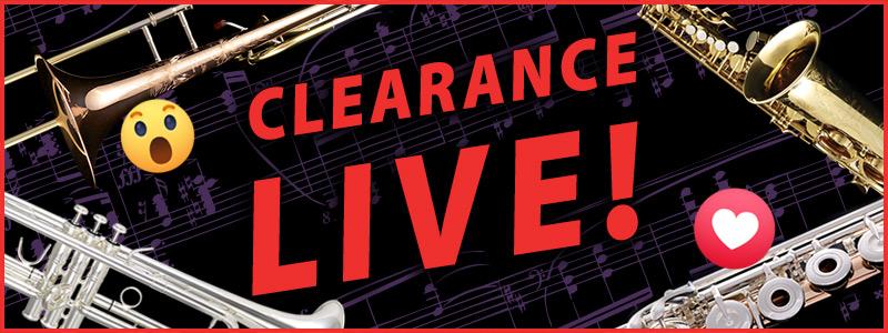 Clearance Live: Trumpet Sale on Facebook Live!