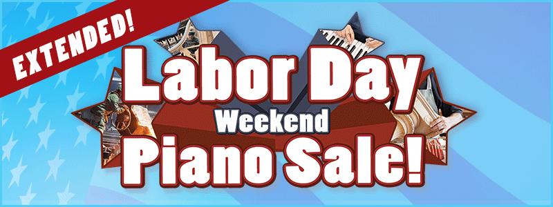 Extended: Labor Day Piano Sale | Omaha, NE