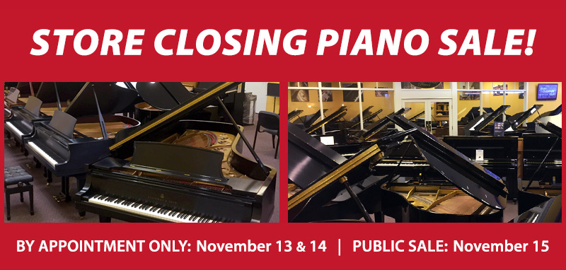 Kansas City Store Closing Piano Sale | Overland Park, KS