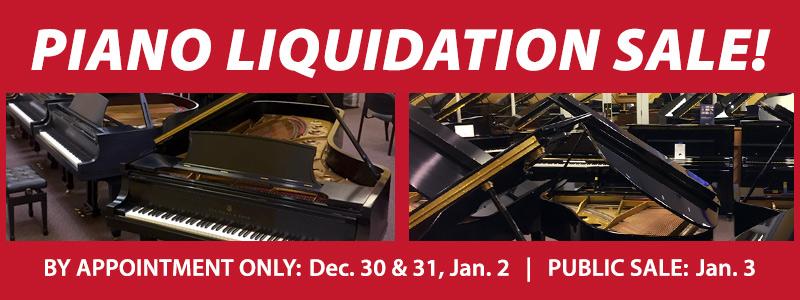 Piano Inventory Liquidation Sale | Brooklyn Center, MN