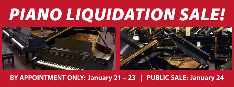 Piano Inventory Liquidation Sale | Omaha, NE