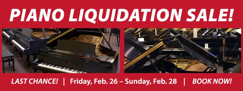 FINAL WEEKEND: Piano Liquidation Sale | Englewood, CO