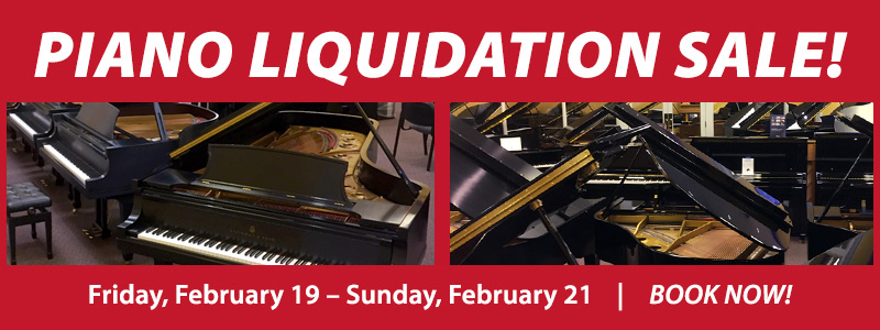 Piano Inventory Liquidation Sale | Englewood, CO