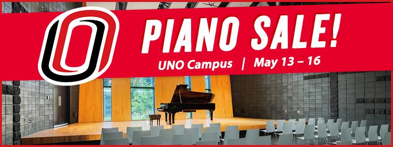 University of Nebraska Omaha Piano Clearance Sale