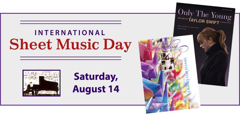 International Sheet Music Day 2021