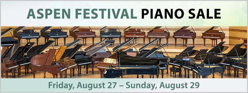 Aspen Music Festival Piano Sale | Aspen, CO