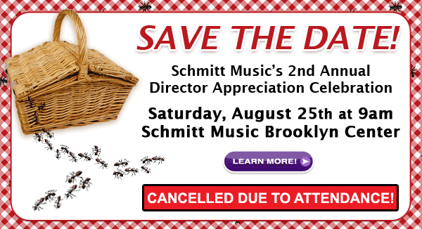 2nd Annual Director Appreciation Celebration Picnic at Schmitt Music Brooklyn Center