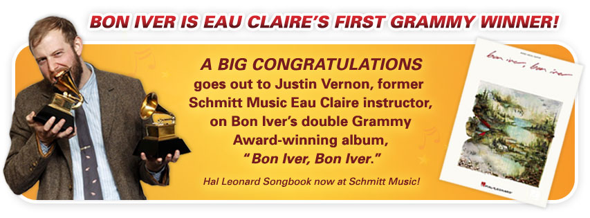Congratulations to Eau Claire's Bon Iver – 2 Grammy Awards!