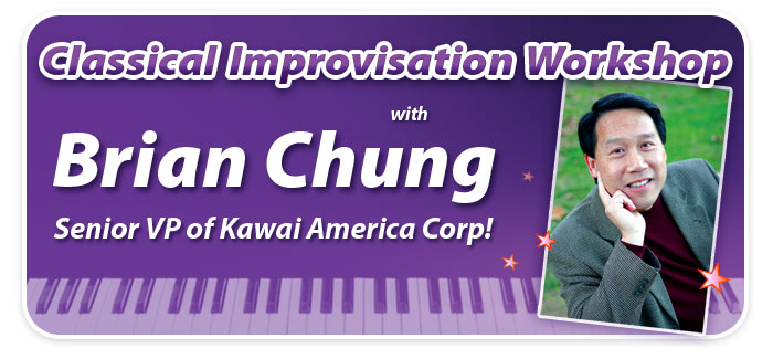 """Classical Improvisation"" Workshop with Brian Chung at Schmitt Music Edina!"
