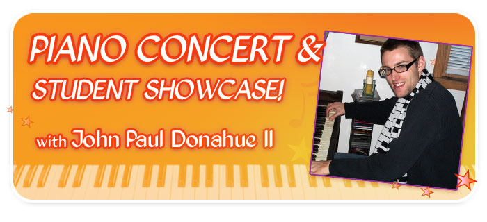 Boogie & Blues Piano Concert with John Paul Donahue II at Schmitt Music Edina
