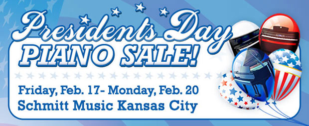 Huge Piano Sale this weekend at Schmitt Music Kansas City!