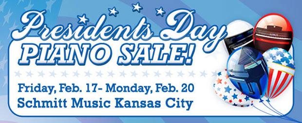 Huge Piano Sale this weekend at Schmitt Music Kansas City!