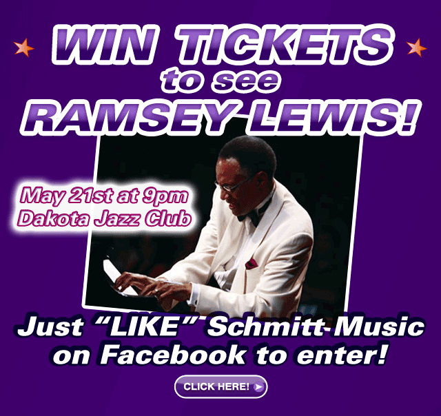 Win Tickets to see Ramsey Lewis Live at the Dakota Jazz Club in Minneapolis
