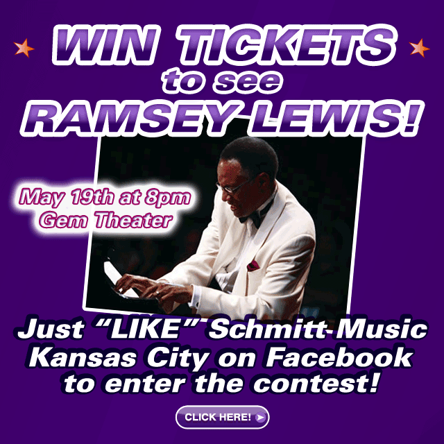 Win Tickets to see Ramsey Lewis Live at the American Jazz Museum in Kansas City