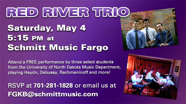Red River Trio Live at Schmitt Music Fargo