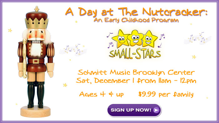 Small-Stars: A Day at The Nutcracker Coming to Schmitt Music Brooklyn Center